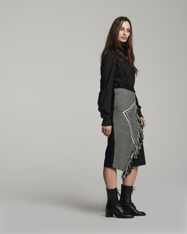 Arrow Skirt Fringe