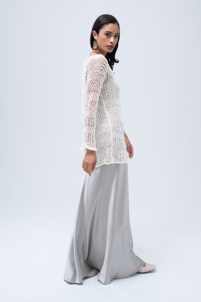 Loose Knit Linen Sweater