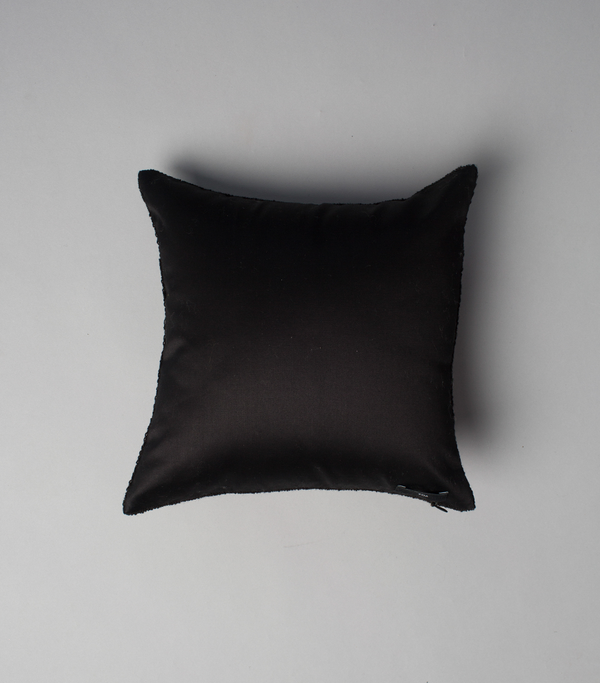 Solid Square Pillow in Black