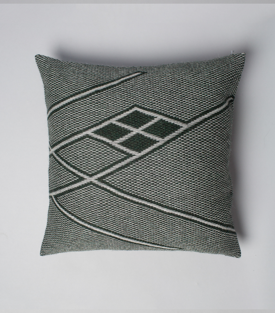 Che Euro Pillow in Forest Green