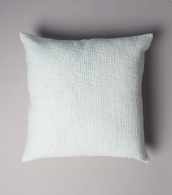 Flammé Euro Pillow in Baby Blue 20 x 20