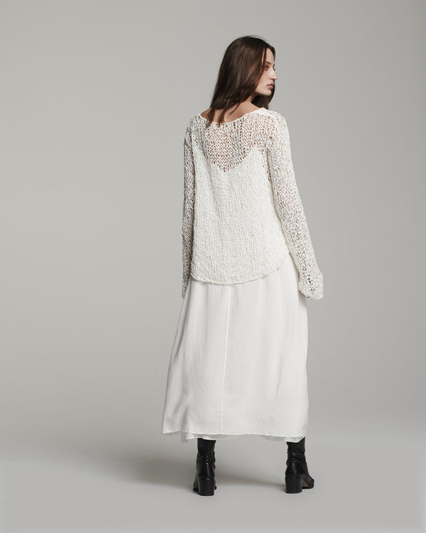 Loose Knit Long Sweater