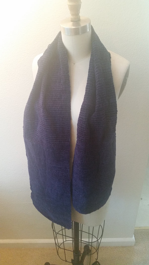 Chenille Scarf Sample