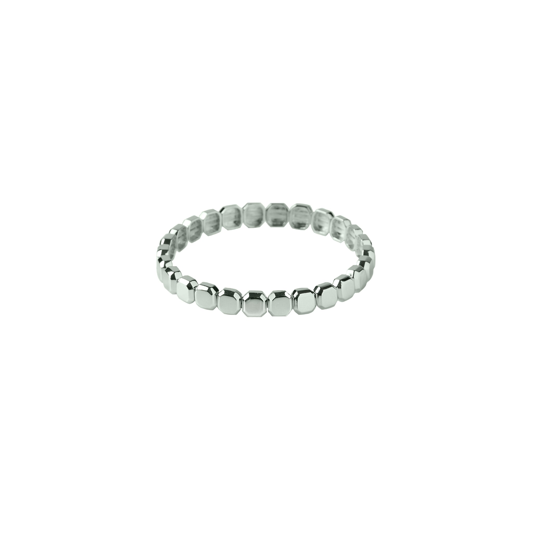 Max Metal Gem Stretch Bracelet Mini (Gold and Silver)