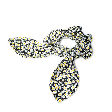 Leah Scrunchie with Tie - Made in California