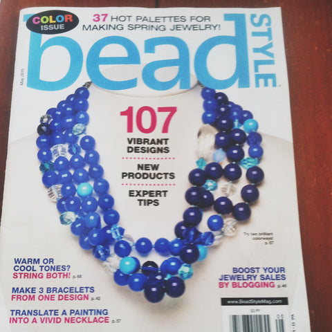 Bead Style Magazine May 2015