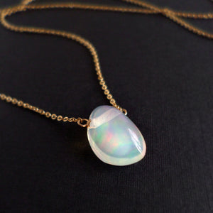 Opal Nugget Necklace