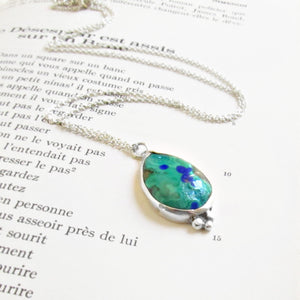 Malachite & Azurite Necklace