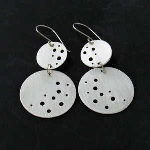 Double Moon Earrings