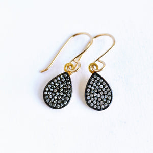 Topaz Pave Earrings