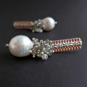 Stella Earrings - Pearl