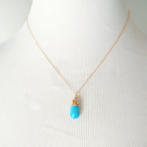 Avril Necklace - Turquoise