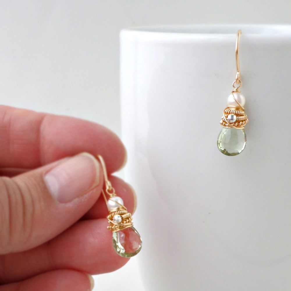 Green Hadley Earrings