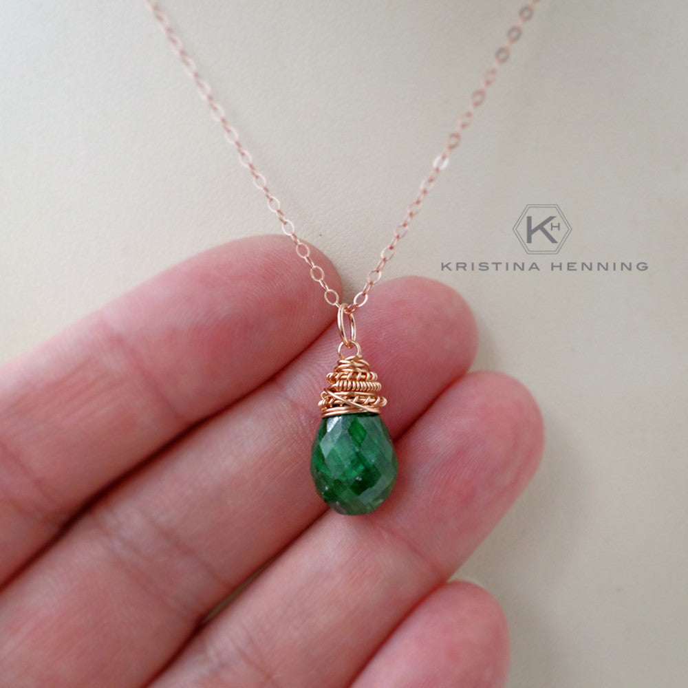 Emerald Marie Necklace