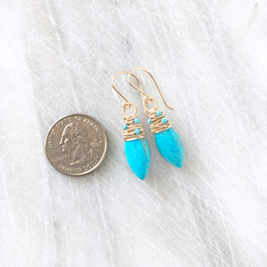 Turquoise Avril Earrings