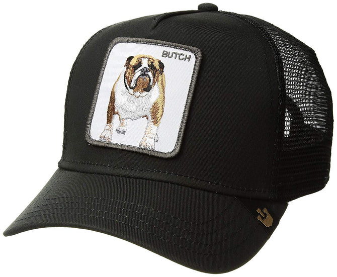 Goorin Bros. Men's Butch Animal Farm Trucker Cap, Black, One Size - VURNING