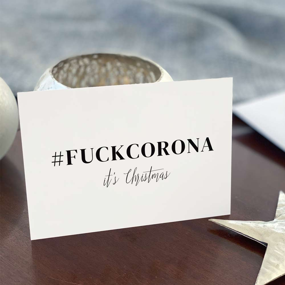 #FUCKCORONA it's Christmas