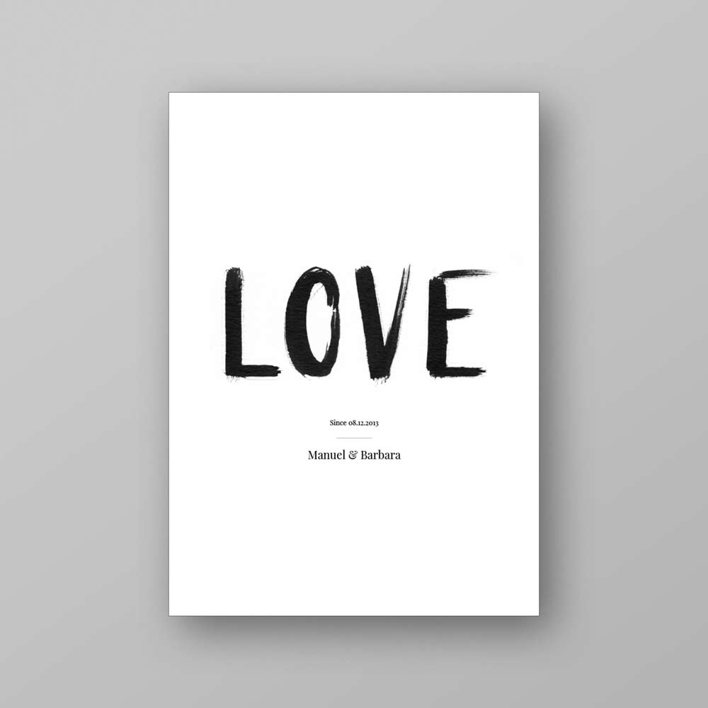 Printable Love Since