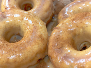 Banana Bread Cinnamon Maple Glaze Protein Doughnuts