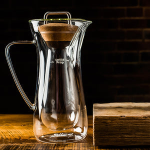 Glass coffee carafe