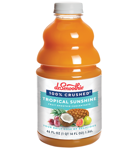 Tropical Sunshine 100% Crushed Fruit