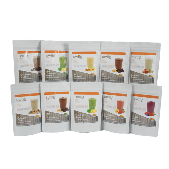 Single Serve Smoothies - Variety 10 Count