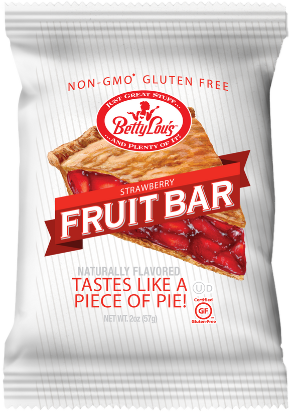 Strawberry Fruit Bar - 12ct