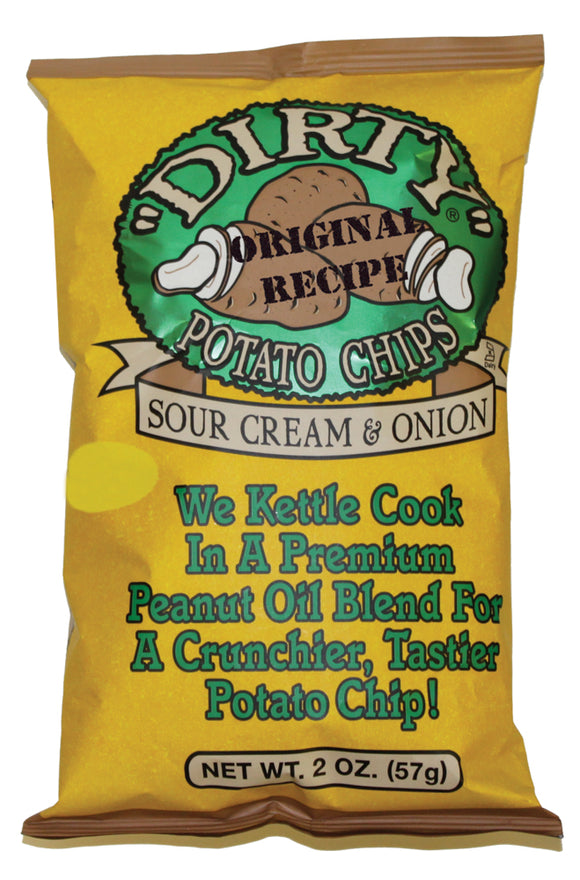 Dirty Chips Sour Cream - 25/2oz