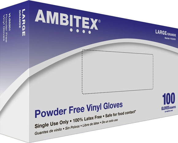 Powder Free Vinyl Gloves