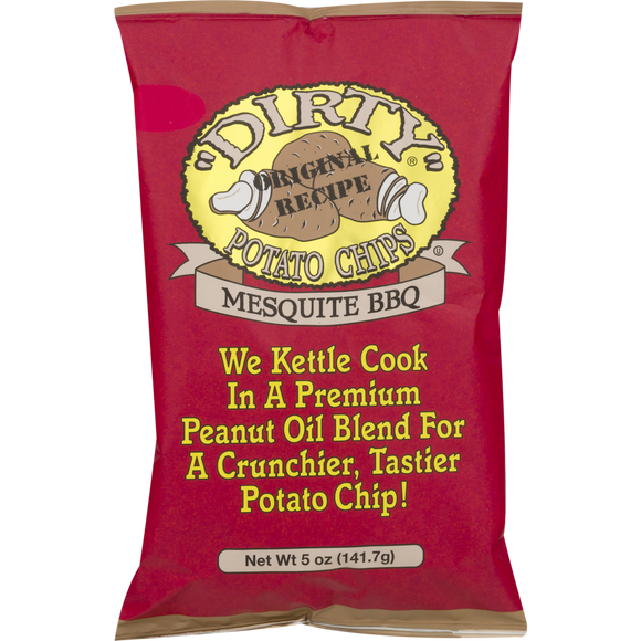 Dirty Chips Mesquite BBQ - 25/2oz