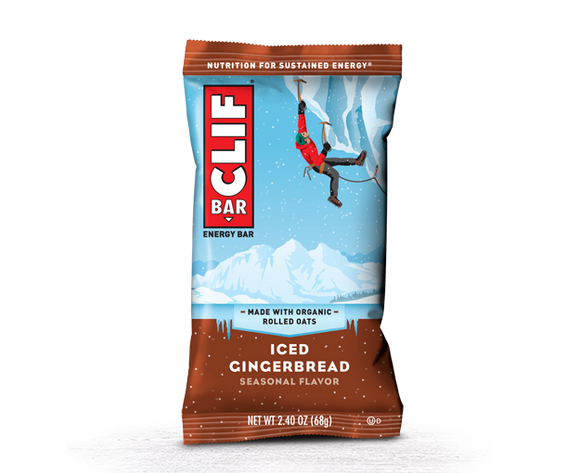 Clif Bar Iced Gingerbread - 12/box
