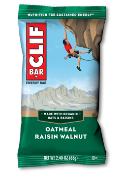 Clif Bar Oatmeal Raisin Walnut - 12/box
