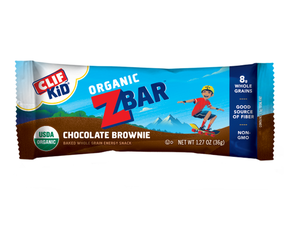 Clif Zbar Chocolate Brownie - 18ct