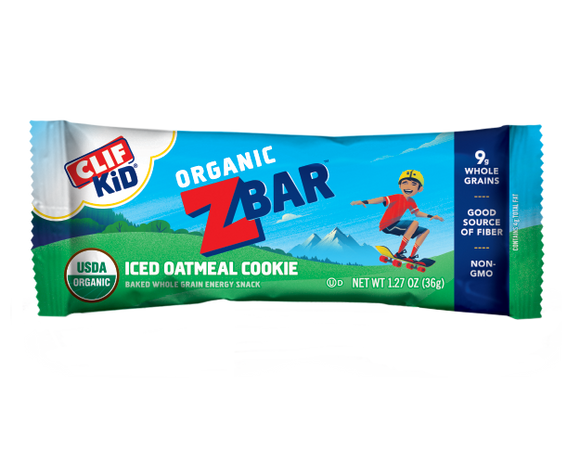 Clif Zbar Iced Oatmeal Cookie - 18ct