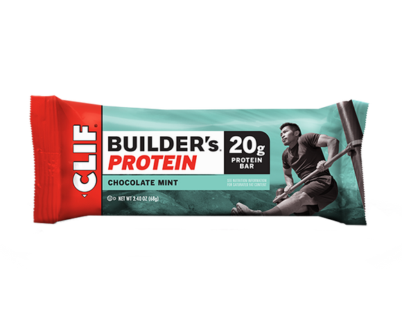 Clif Builders Bar Chocolate Mint - 12/box