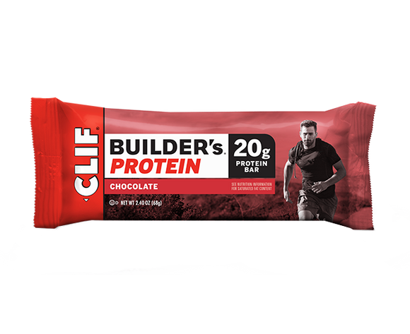 Clif Builders Bar Chocolate - 12/box