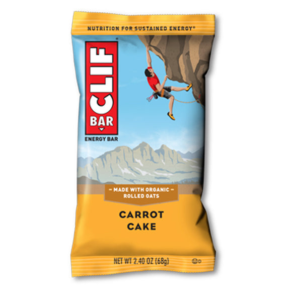 Clif Bar Carrot Cake - 12/box