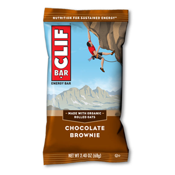 Clif Bar Chocolate Brownie - 12/box