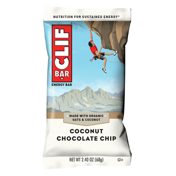 Clif Bar Coconut Chocolate Chip - 12/box