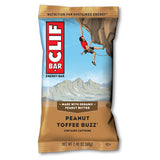 Clif Bar Peanut Toffee Buzz w/ Caffeine - 12/box