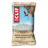 Clif Bar White Chocolate Macadamia - 12/box