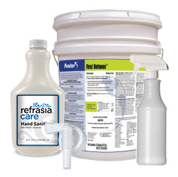 Complete Sanitizing & Disinfectant Kit