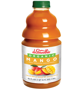Organic Mango100% Crushed Fruit