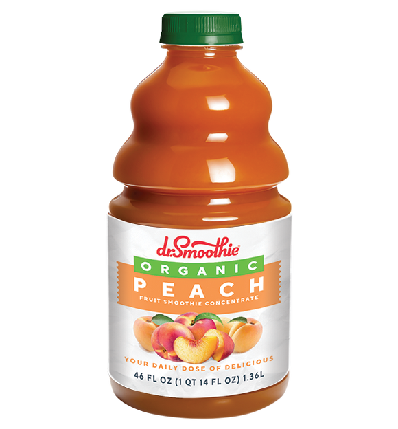 Organic Peach100% Crushed Fruit