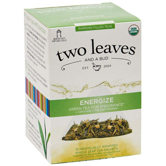 Organic Energize - Green Tea for Endurance - 15ct