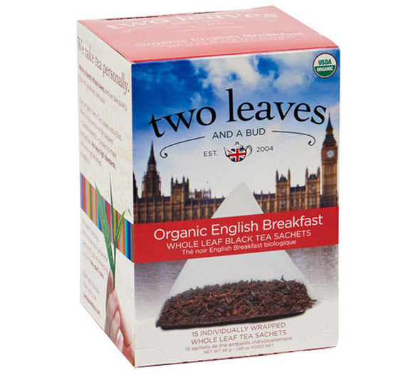 Organic English Breakfast - 15ct