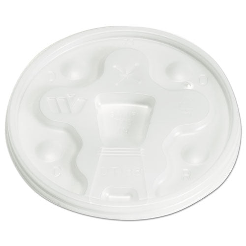 12/20 Lid for PFC Logo Foam (Vio) -1000ct