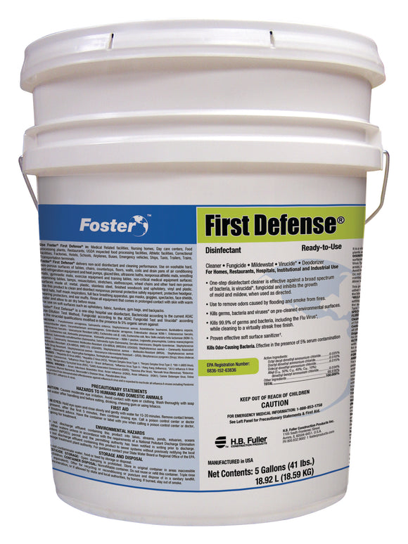 Fosters 40-80 First Defense Disinfectant 5/gal