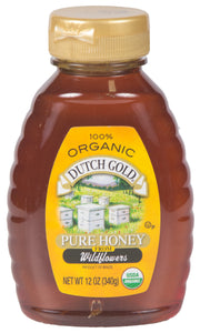 Organic Honey - 12oz