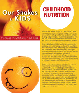 Trifold - Our Shakes and Kids 50ct